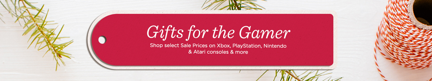 Gifts for the Gamer. Shop select Sale Prices on Xbox, PlayStation, Nintendo & Atari consoles & more.