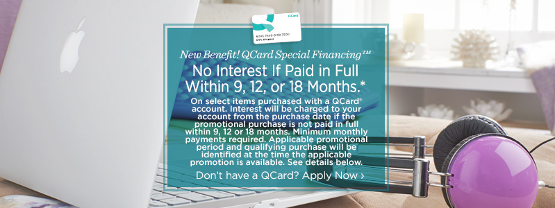 QCard Special Financing