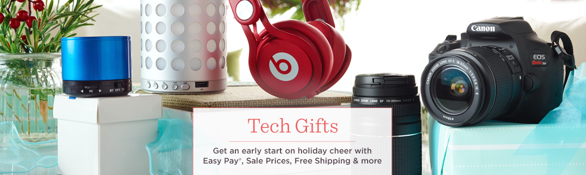 Tech Gifts, Get an early start on holiday cheer with Easy Pay®, Sale Prices, Free Shipping & more
