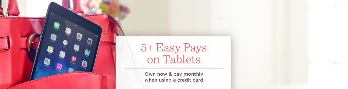 5+ Easy Pays on Tablets