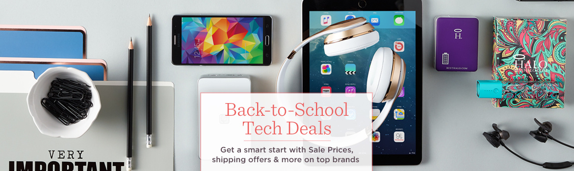 Back-to-School Tech Deals. Get a smart start with Sale Prices, shipping offers & more on top brands