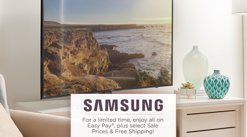 Samsung. For a limited time, enjoy select Sale Prices & Free Shipping!