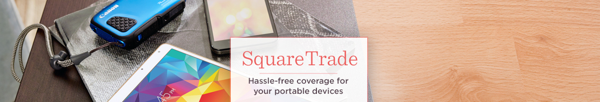 SquareTrade, Enjoy hassle-free coverage & no-worry repairs