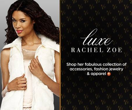 Luxe Rachel Zoe Faux-Fur Vest