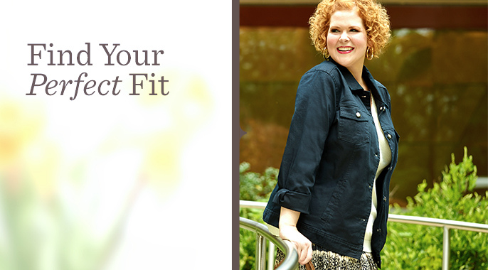 Plus-Size Fashion — Tops, Pants, Jackets & More — — QVC.com