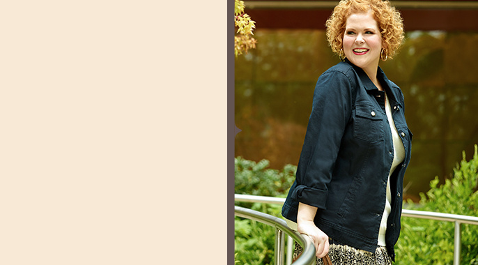 Plus Size Fashion Guide — Outfit Ideas & Sizing — QVC.com