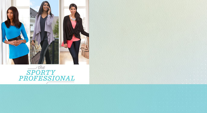The Sporty Professional — Athleisure — Fashion — QVC.com