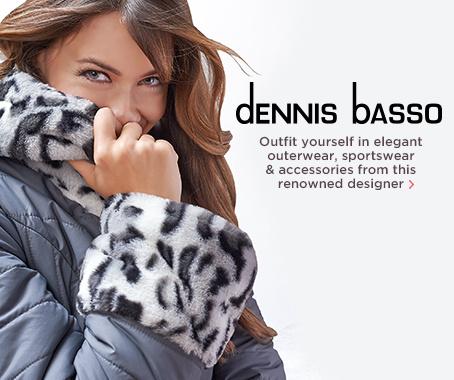 Dennis Basso Faux-Fur & Water-Resistant Puffer Coat