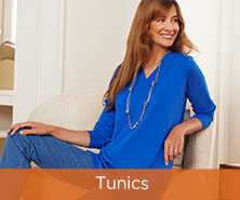 Denim & Co.(R) Essentials V-Neck Tunic