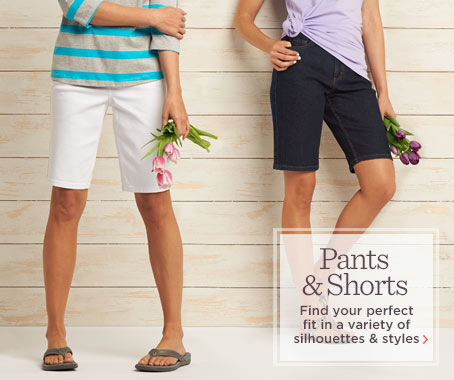 Denim & Co.(R) How Modern 5-Pocket Colored Denim Bermuda Shorts