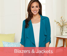 Joan Rivers Soft Crepe Cascade-Front Jacket