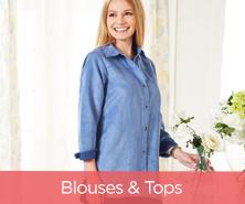 Joan Rivers Classic Denim Boyfriend Shirt with Pockets