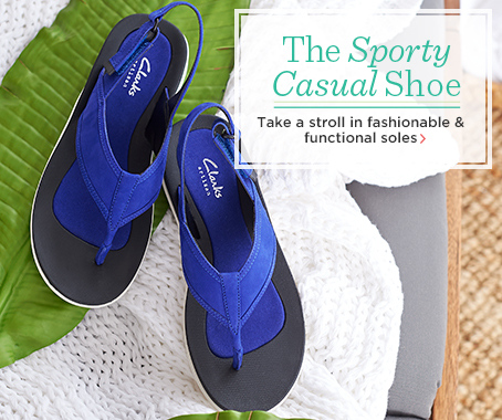 Clarks Artisan Leather Sport Thong Sandals