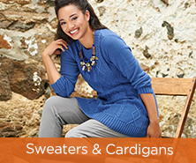 Susan Graver Jewel-Neck Cable-Knit Sweater