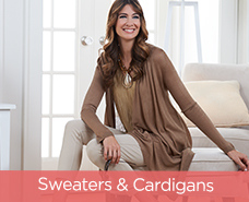 Susan Graver Sweater-Knit Lightweight Cascade Cardigan