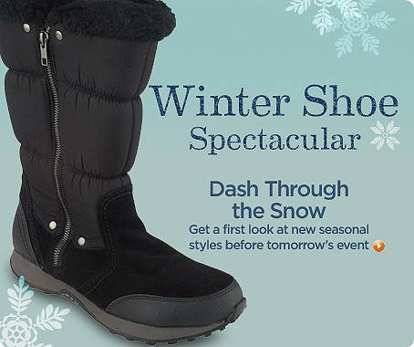 Winter Shoe Spectacular
