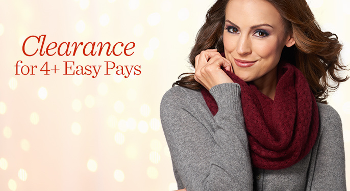 Clearance for 4+ Easy Pays