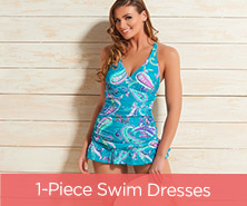 Ocean Dream Signature Island Paisley Swim Dress