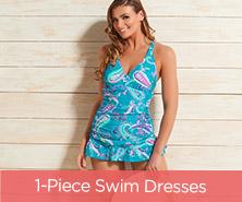 Ocean Dream Signature Island Paisley Swim Dress