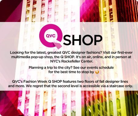 NY Fashion Week QSHOP Events Schedule
