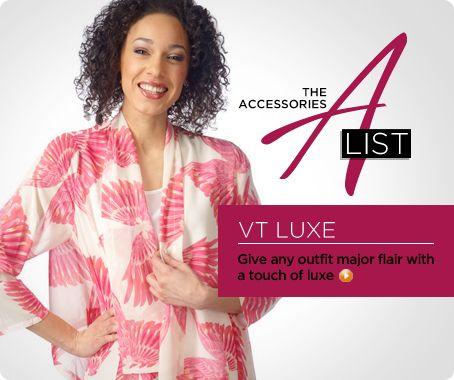 Feather-print scarf jacket by VT Luxe