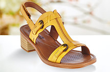 Clarks Block-Heel Sandals
