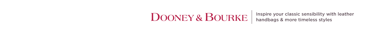 Dooney & Bourke. Inspire your classic sensibility with leather handbags & more timeless styles