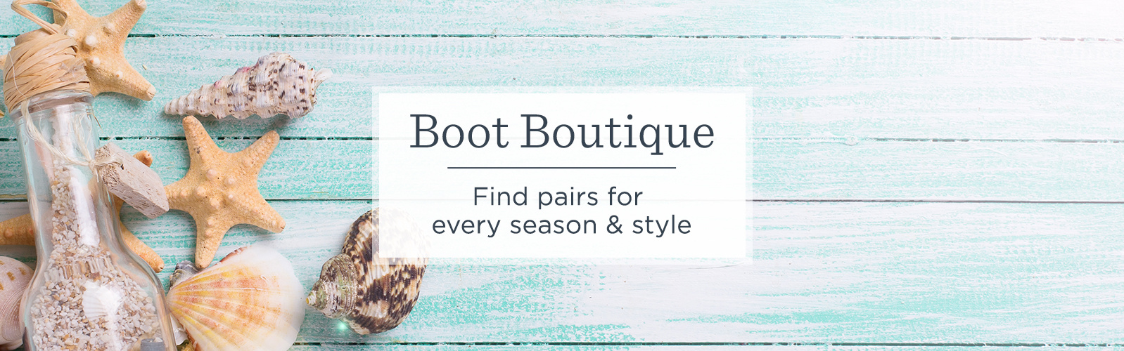 Boot Boutique. Find pairs for every season & style