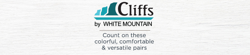 Cliffs by White Mountain. Count on these colorful, comfortable & versatile pairs