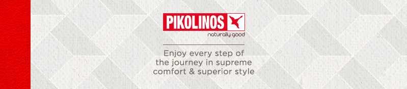 Pikolinos. Enjoy every step of the journey in supreme comfort & superior style