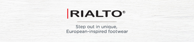 Rialto. Step out in unique, European-inspired footwear