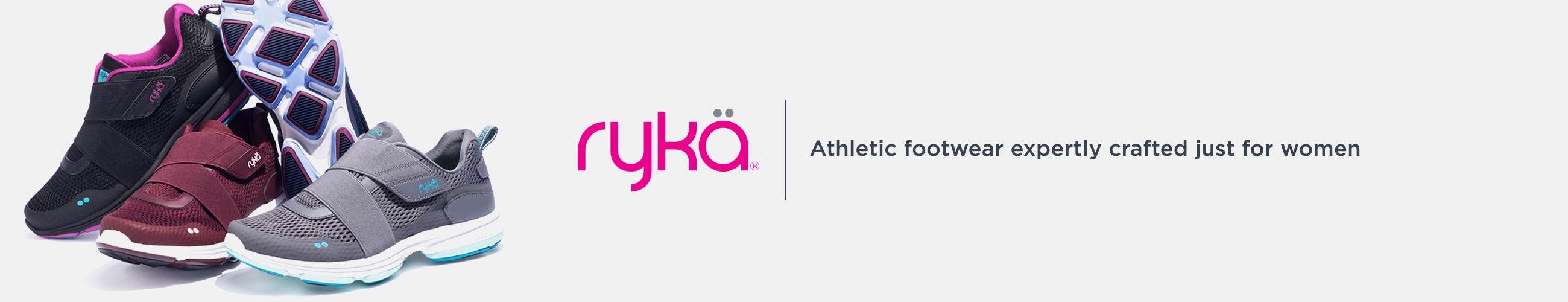Rykä. Athletic footwear expertly crafted just for women