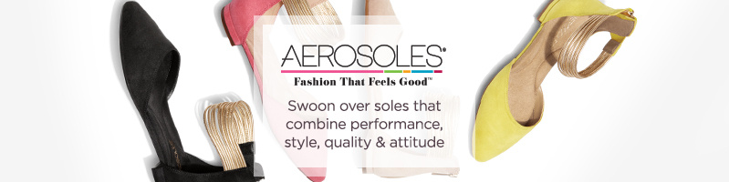 Aerosoles Swoon over soles that combine performance, style, quality & attitude