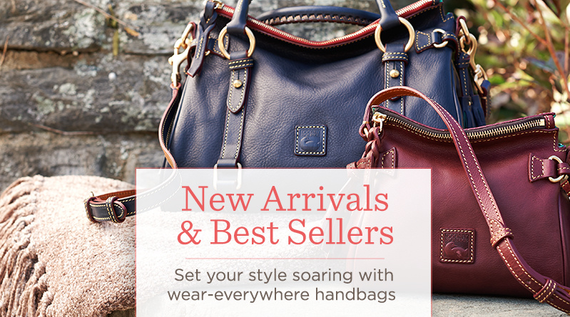 New Arrivals & Best Sellers  Set your style soaring with wear-everywhere handbags