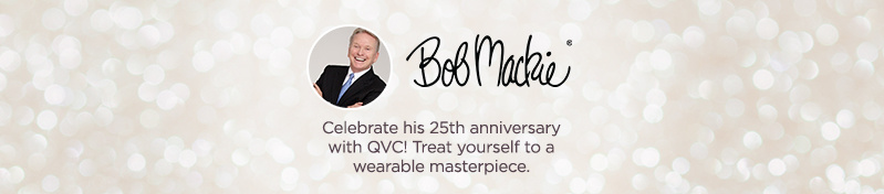 Bob Mackie Celebrate his 25th anniversary with QVC! Treat yourself to a wearable masterpiece.