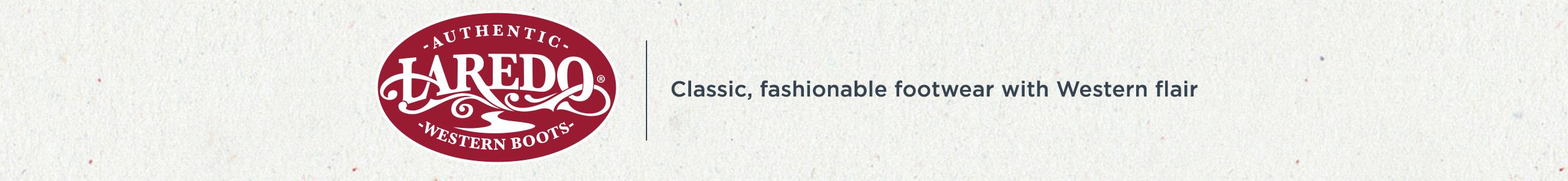 Laredo — Classic, fashionable footwear with western flair