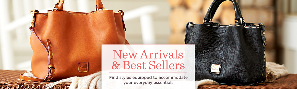 New Arrivals & Best Sellers.  Find styles equipped to accommodate your everyday essentials