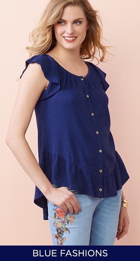 Blue Fashions