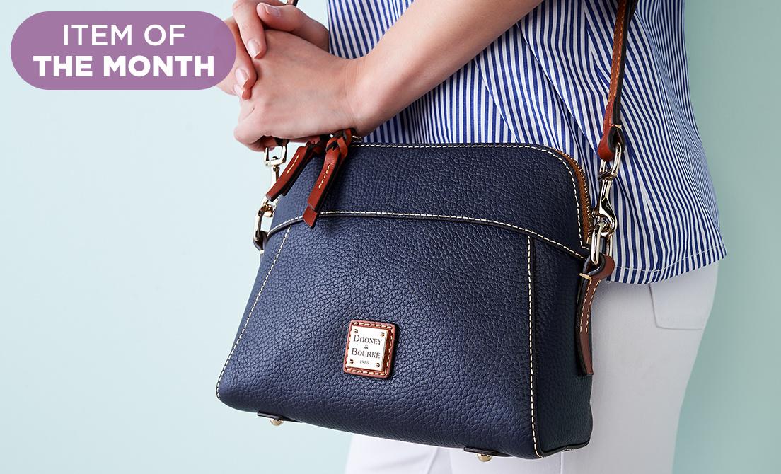 Dooney & Bourke Nylon Hobo Handbag- Cameron