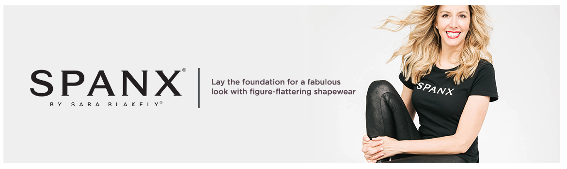 Spanx  Lay the foundation for a fabulous look with figure-flattering shapewear