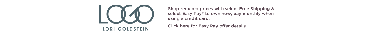 Logo.  Shop reduced prices with select Free Shipping & select Easy Pay® to own now, pay monthly when using a credit card.  Click here for Easy Pay offer details.
