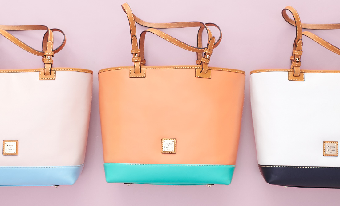 Dooney & Bourke Nylon Hobo Handbag- Lee
