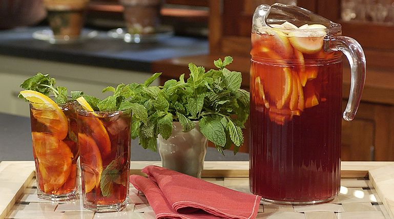 Martha's Red Iced Tea