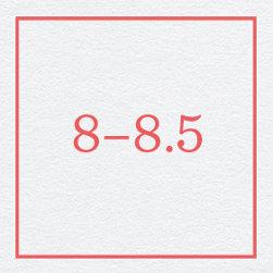 8–8.5