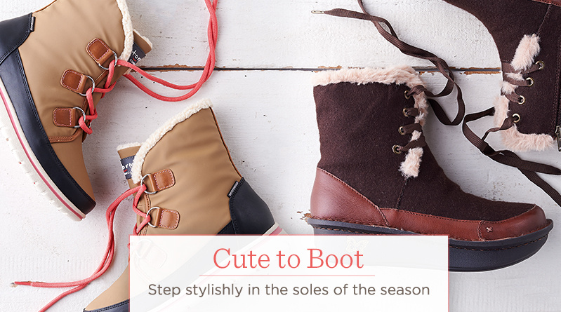 Cute to Boot  Step stylishly in the soles of the season