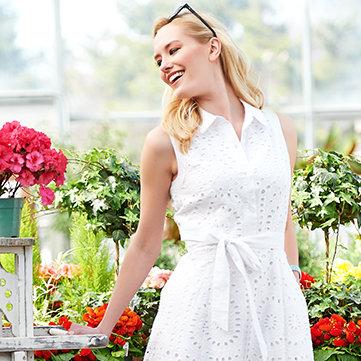 White - Shop clean & classic looks
