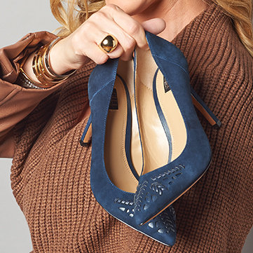 Shoes Put a little bit of flourish on your feet