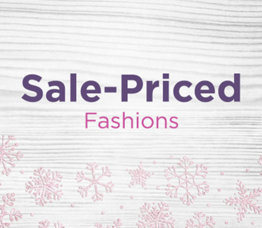 Sale-Priced Fashions