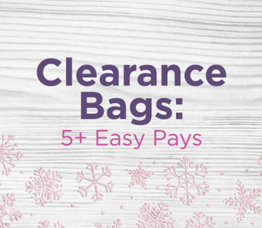Clearance Bags: 5+ Easy Pays