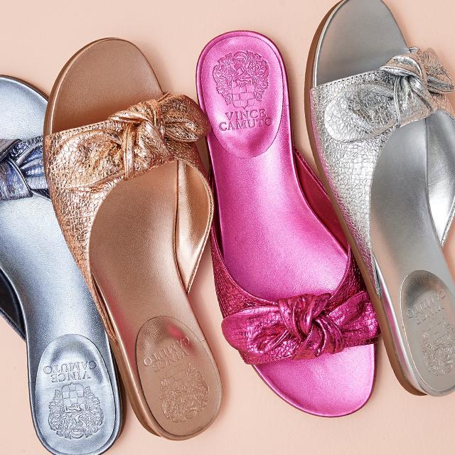 On-Trend Slide Sandals